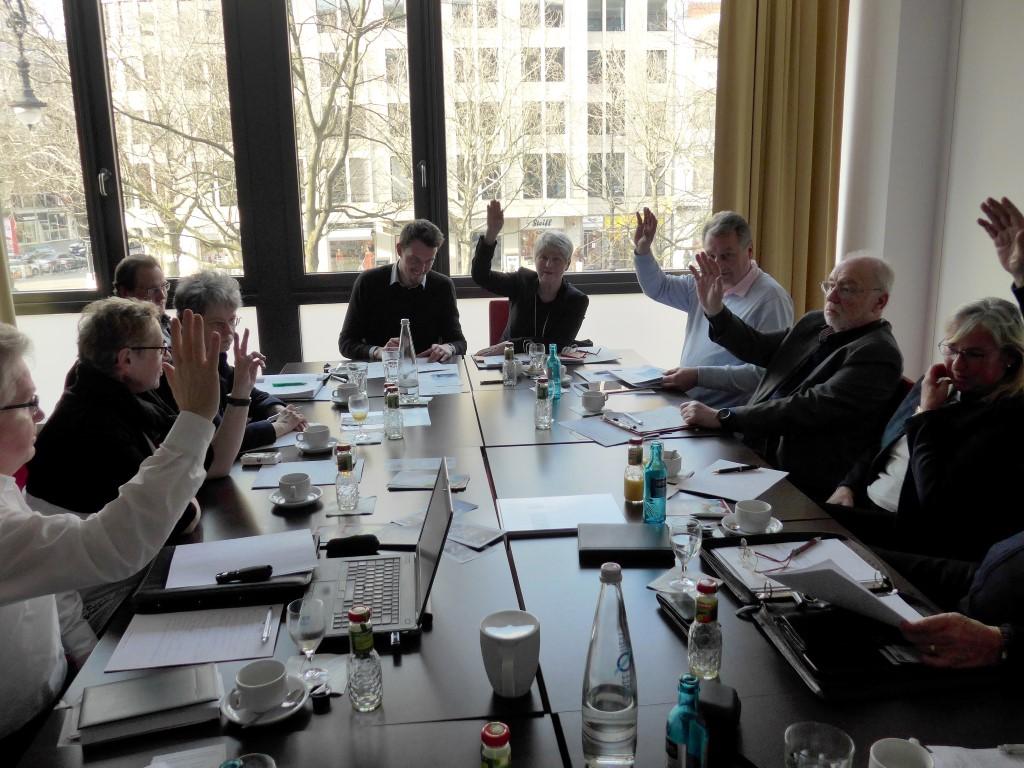 BDS Deutschland Vorstandssitzung
